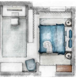 Basement room cut